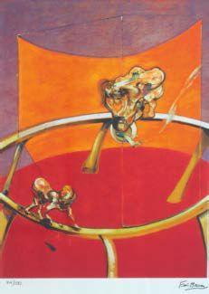 Francis Bacon-Donna con bambino paralitico-