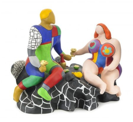 Niki de Saint Phalle-Adam et Eve-1981