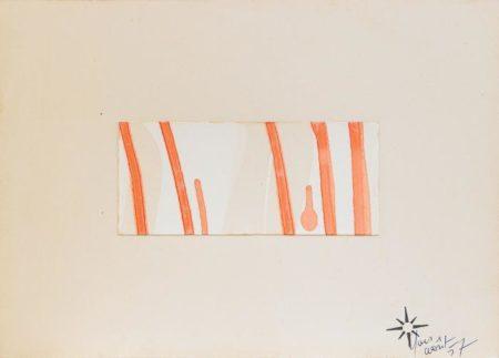 Yves Klein-D 35-1957