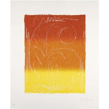 Jasper Johns-Color Numerals: Figure 6-1969