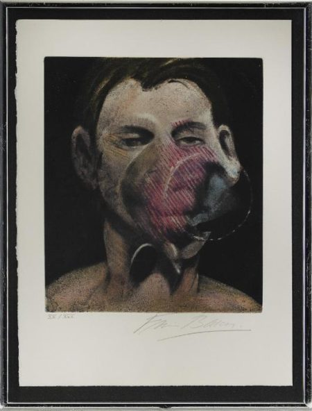 Francis Bacon-Portrait of Peter Beard-1976