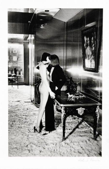 Helmut Newton-Mannequins quai d'Orsay I-1977