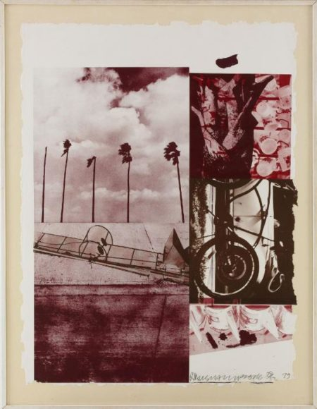 Robert Rauschenberg-Robert Rauschenberg - Rookery Mounds (Grape Levee)-1979