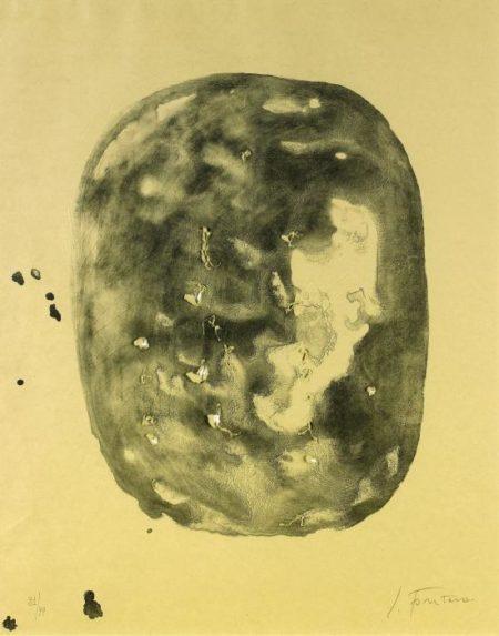 Lucio Fontana-Composizione-1968
