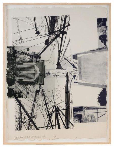 Robert Rauschenberg-Robert Rauschenberg - Rookery Mounds (Steel Arbor)-1979