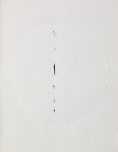 Lucio Fontana-Concetto Spaziale 476-1966