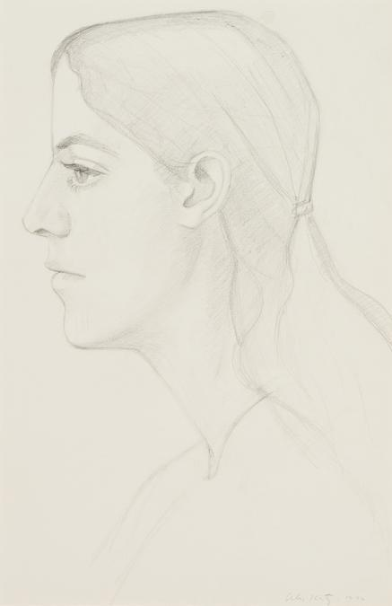Alex Katz-Portrait of Deborah-1972