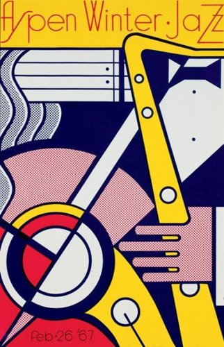 Roy Lichtenstein-Aspen Winter Jazz Poster-