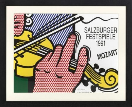 Roy Lichtenstein-Salzburger Festspiele 1991 - Mozart-1991