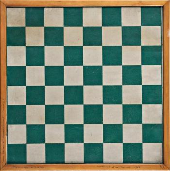 Hommage a Caissa (Chessboard)-1966