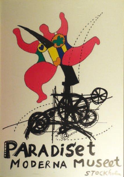 Niki de Saint Phalle-Paradiset Moderna Museet Stockholm-