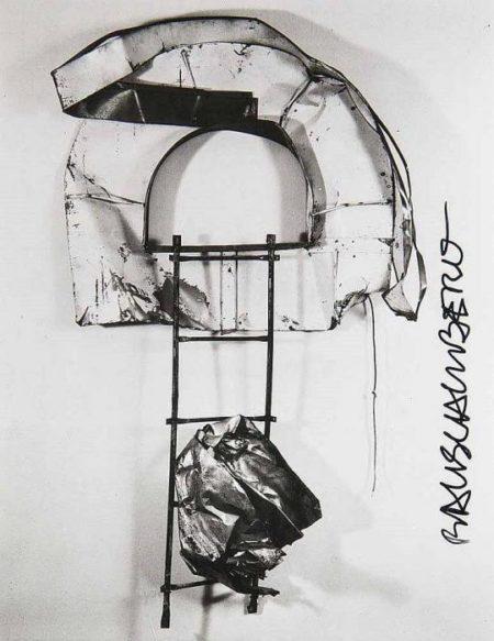 Robert Rauschenberg-Robert Rauschenberg - Balcone Glut Neapolitan-1987