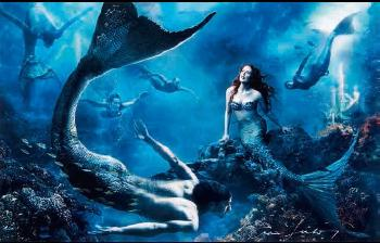 Annie Leibovitz-The Little Mermaid - Where Another World Is Just A Wish Away-2008