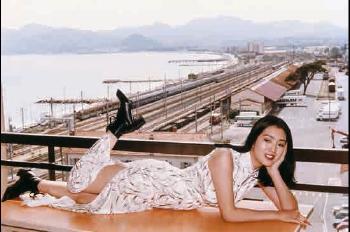Helmut Newton-The Chinese actress Gong Li-1995