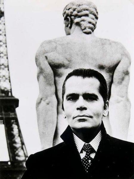 Helmut Newton-Karl Lagerfeld-1982