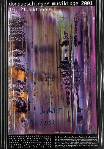 Gerhard Richter-Donaueschinger Musiktage 19. - 21. Oktober 2001 (Bild 869-3)-2001