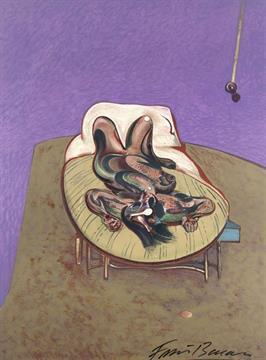 Francis Bacon-Reclining Figure-1970