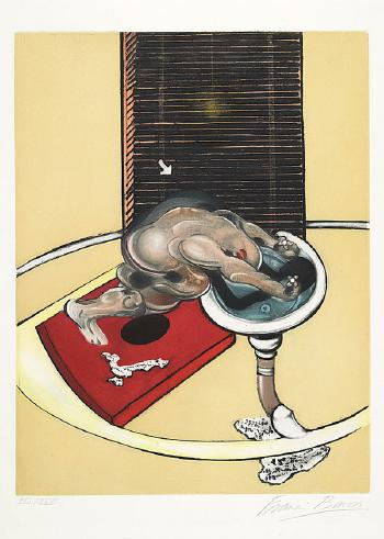 Francis Bacon-Figure at a Washbasin-1978