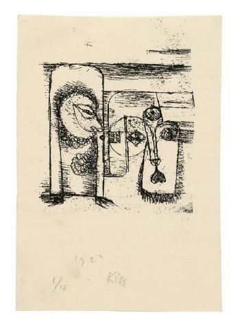 Paul Klee-Gesichter-1923