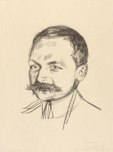 Edvard Munch-Dr. Wilhelm Wartmann-1922