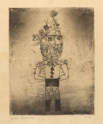 Paul Klee-Stachel Der Clown-1931