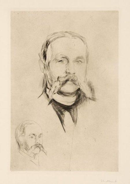 Edvard Munch-Dr. Hermann Seidel-1895