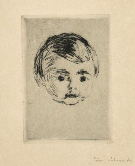 Edvard Munch-Age Christian Gierloff-1916