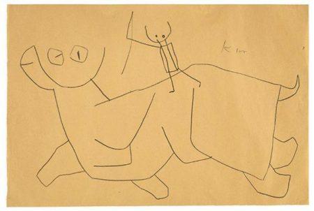 Paul Klee-Hop hop!-1939