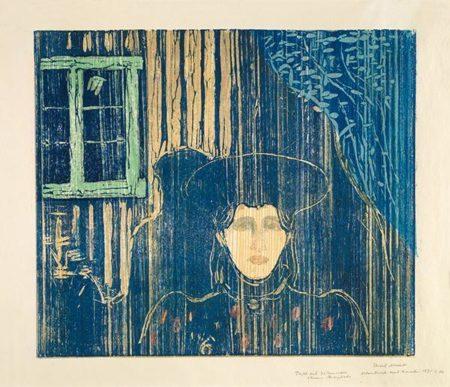 Edvard Munch-Maneskinn I / Moonlight I / Mondschein I-1935