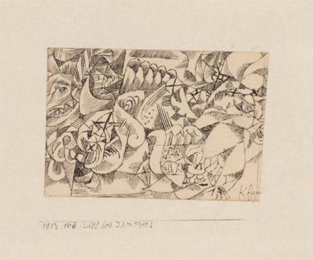 Paul Klee-Lied Des Jammers-1913