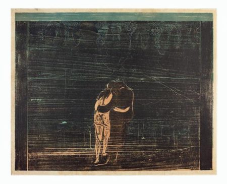 Edvard Munch-Mot skogen I / Towards The Forest I / Zum Walde I (W. 112; S. 100)-1897