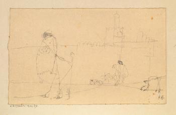 Paul Klee-Strassenskizze Aus Kairuan - Kairuan-1914