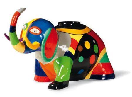 Niki de Saint Phalle-Vase elephant-1988