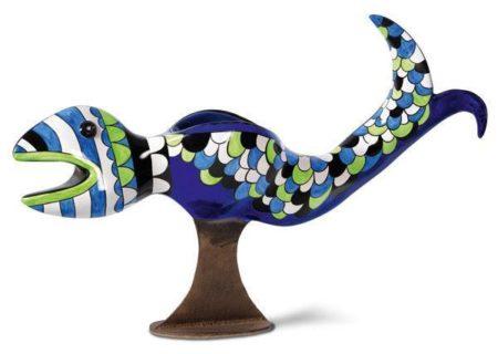 Niki de Saint Phalle-Vase poisson-1992
