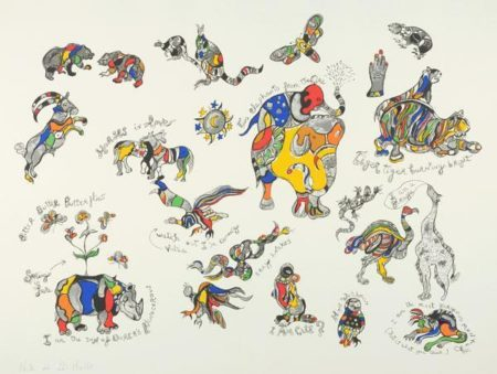 Niki de Saint Phalle-Animals-1996