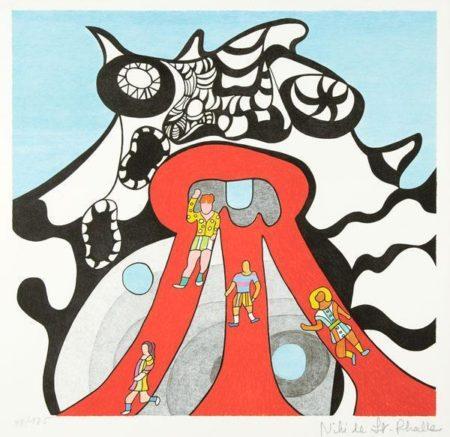 Niki de Saint Phalle-Le Golem de Jerusalem. 1972-