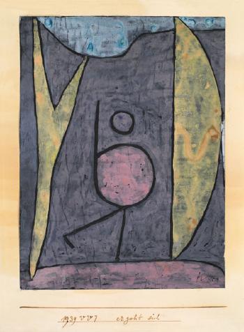 Paul Klee-Ergeht Sich-1939