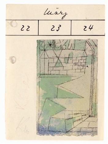 Paul Klee-Ohne Titel (Spring Sunshine)-1919