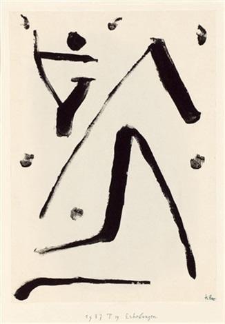 Paul Klee-Erhebungen (Elevations)-1937