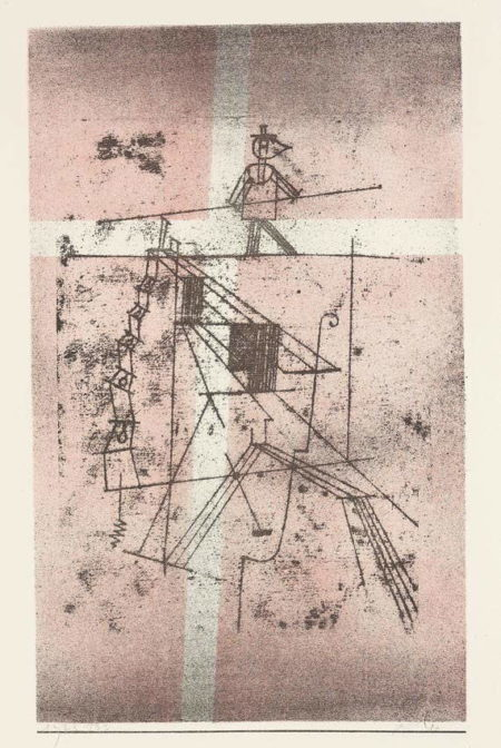 Paul Klee-Der Seiltanzer (Tightrope Walker)-1923