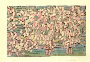 Paul Klee-Bluhende Apfelbaume (Apple Trees In Blossom)-1934