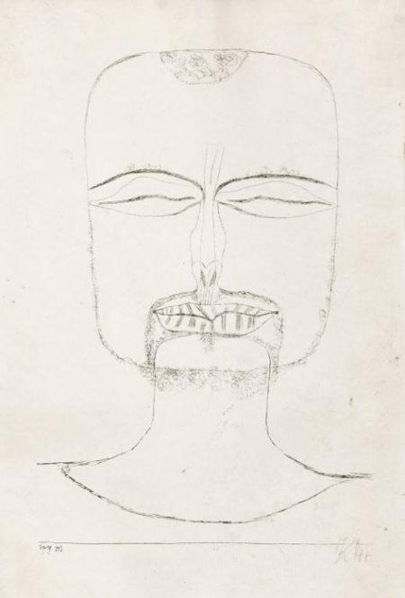 Paul Klee-Versunkenheit-1919
