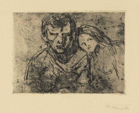 Edvard Munch-Der Verfuhrer-1913