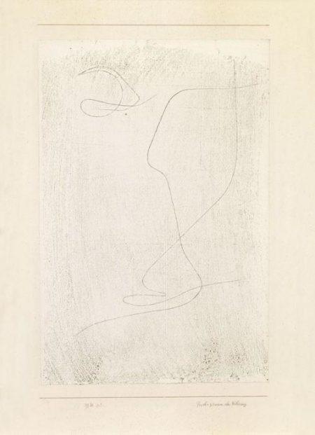 Paul Klee-Psychogramm Der Naherung-1930