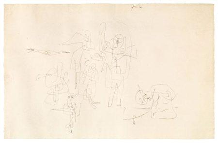 Paul Klee-Sie Wandern Aus-1934