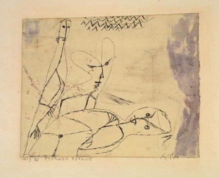 Paul Klee-Krankenbesuch-1913
