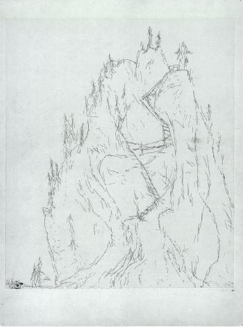 Paul Klee-St.Beatenberg Birrenfluh-1909