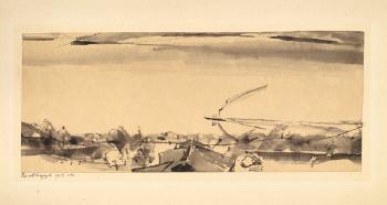 Paul Klee-Blick Auf Den Seespiegel - (Von Oberhofen Aus)-1912