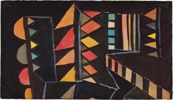Paul Klee-Kunstlicher Garten-1932