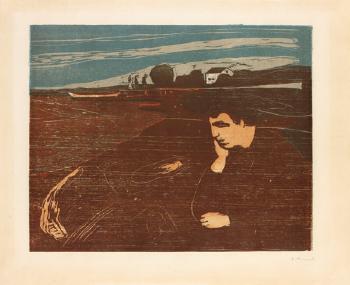 Edvard Munch-Melancholie III-1902